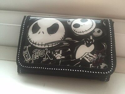 New Nightmare Before Christmas Tri Fold Wallet Jack Skellington Emo Witches UK
