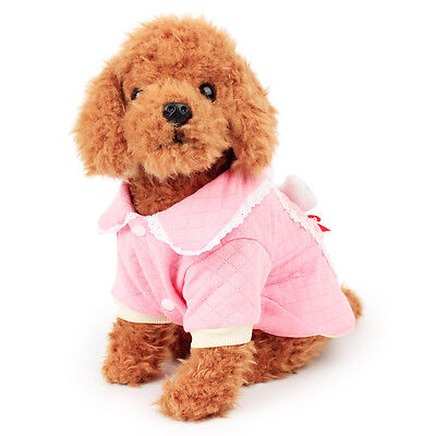 Small Dogs Casual Pet Dog Winter Warm Hoodie Coat Jacket Clothes Clothing