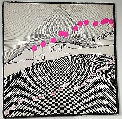 Rare 1983 UK Electronic, Alternative, New Wave, Synth LP - Out Of The Unknown