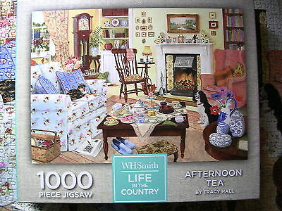 WHSmith Life in the Country Afternoon Tea 1000 Piece Jigsaw Puzzle