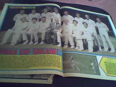 ENGLAND WORLD CUP SQUAD 1975 A3 SIZE PULLOUT FROM TIGER/SCORCHER greig,amiss,old