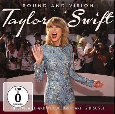 Taylor Swift - Sound And Vision (cd+dvd) NEW 2 x CD