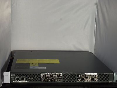 Cisco DS-C9124-K9 MDS 9124 K9 Multilayer Fabric Switch ,used, working, tested