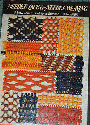Needle lace and weaving BY Jill Nordfors