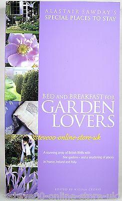 Special Places To Stay Bed & Breakfast For Garden Lovers Holiday Break ( New )