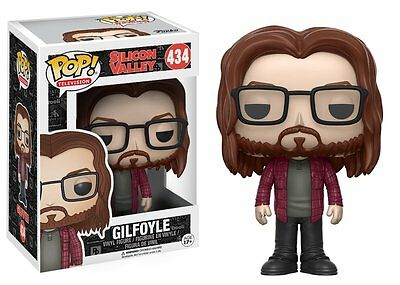 Funko Pop Vinyl - Silicon Valley - 'Gilfoye' Figure - damaged box.