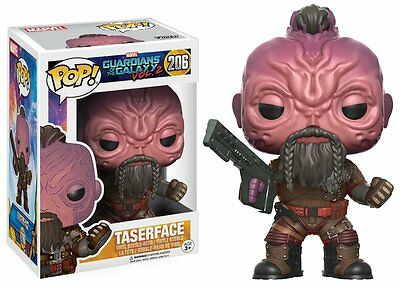 Funko Pop Vinyl Bobble-Guardians of the Galaxy 2-'Taserface' Figure-damaged box.