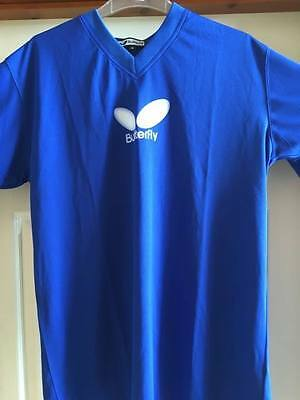 Butterfly Logo Table Tennis Shirt  size Medium