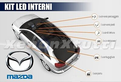 Kit Full Led Interni Mazda Cx-3 Cx3 Conversione Completa 6000K