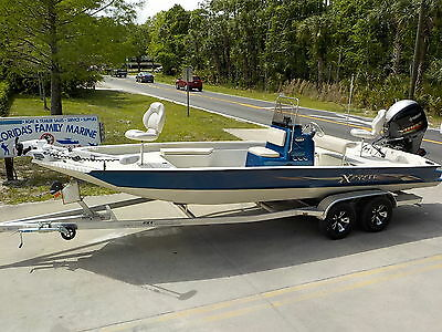 Loaded Left Over- 2016 Xpress 22 Cc Shallow Water Tunnel Hull Aluminum Bay Boat