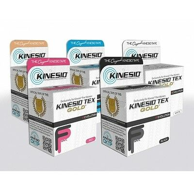 "KINESIO TEX GOLD FP FINGER PRINT TAPE 2"" x 16.4"" (2""x5 1/2YDS) KINESIOLOGY TAPE"