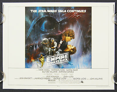 Star Wars The Empire Strikes Back (1980) Gone with the Wind Original Half Sheet