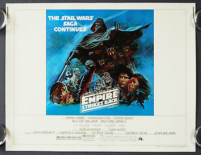 Star Wars The Empire Strikes Back (1980) Style 'B' Original US Half Sheet Poster