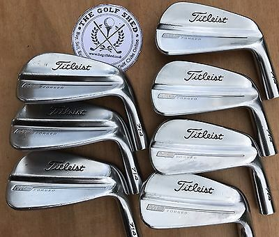 Titleist 714 MB FORGED Iron HEADS 4 - PW - 0.355 TAPER TIP