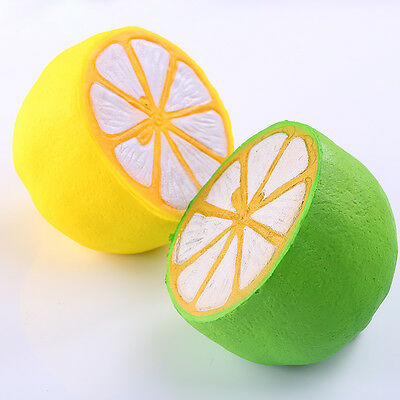 11cm PU Squishy Toy Half Simulation Lemon Scented Super Slow Rising Kid