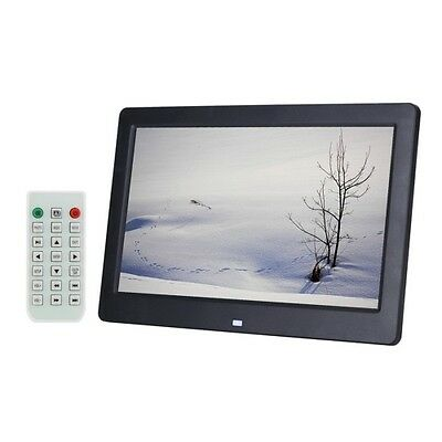 S-Pf-0560B_Sun 10.1 Inch Hd Wide Screen Digital Photo Frame With Holder & Remote