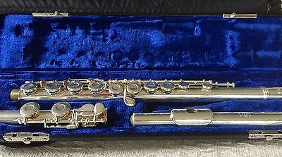 Gemeinhardt 2ESP S/E Flute with hard case and soft carry case.
