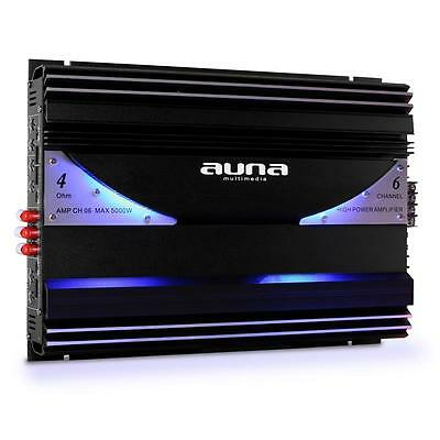 Custom Car Sound Amplifier 6 Channel Speaker System 570W Rms Low Pass Amp