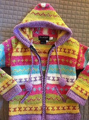 Hand Made Sweater Jacket from Ecuador
