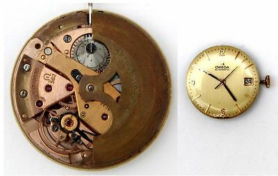 OMEGA 562 original automatic watch movement working   (5303)