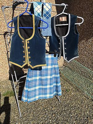 Slim Fit Girls Highland Dance Outfit