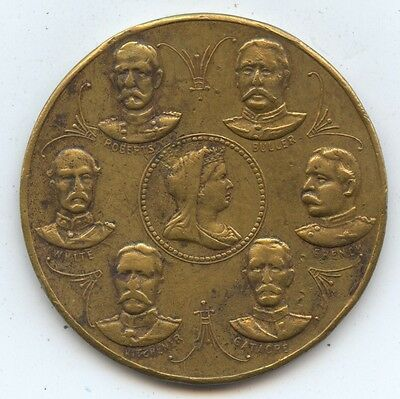 Great Britain Military Medal (#1027) Queen Victoria in Center Surrounded