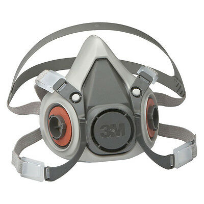 3M 6100 Small Half Face Reusable Respirator