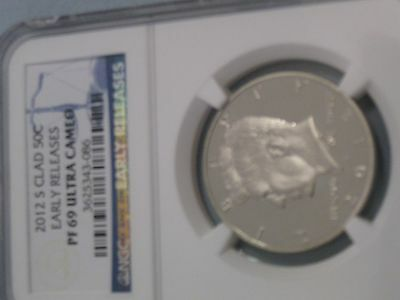 2012 S Clad Early Releases PF 69 Ultra Cameo Kennedy Half Dollar NGC-3625343-086