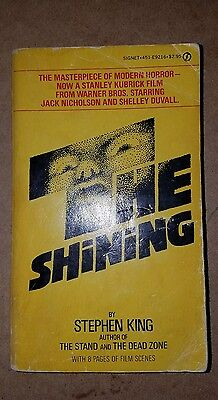 The Shining By Stephen King with Film Scenes Paperback 1st Signet Printing