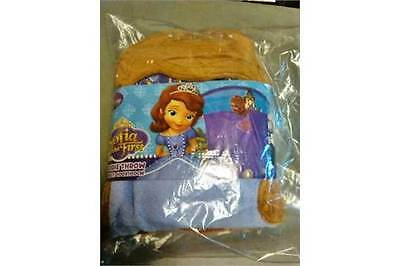 Sofia the First Hoodie throw, brand new with POS Packaging