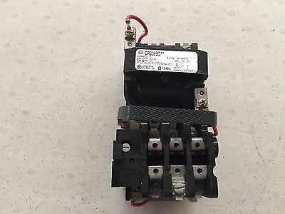 General Electric  SIZE 0 MODEL # CR306B0 MOTOR STARTER  24v AC Coil