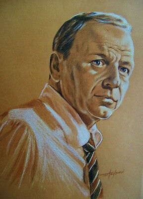 Frank Sinatra, Unique Original Artwork