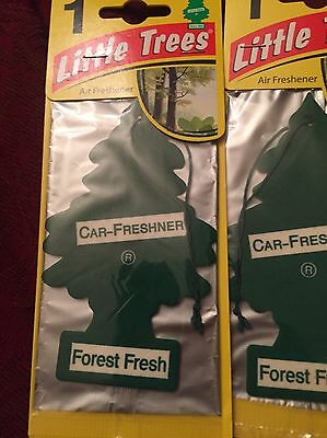 3x Forest Fresh MAGIC TREE/ LITTLE TREE AIR FRESHENER. Free Uk P&P👍👍👍👍👍
