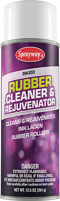 SPRAYWAY SW203 Rubber Roller Cleaner And Rejuvenator Offset Printing Accessories