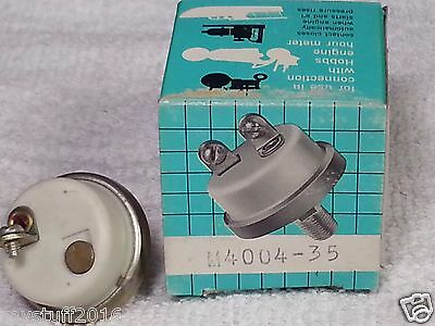 PRESSURE SWITCH HOBBS  M 4004-35 (NO)  Normally Open, Closes @ 35 PSI , Grounded