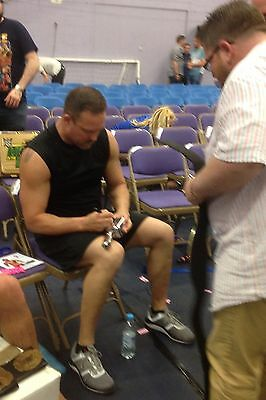 Replica Shower Head Microphone - Signed By Wwe Superstar Mr Anderson - Photo Coa