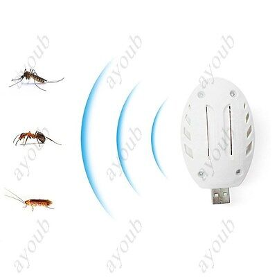 Portable&Utility USB Mosquito Repellent Electronic Pest Control Plug In-Pest Rep