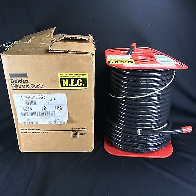 Belden Coaxial Cable 8214 Rg-8/u Type 11 Awg 50 Ohm 100ft NOS in Box