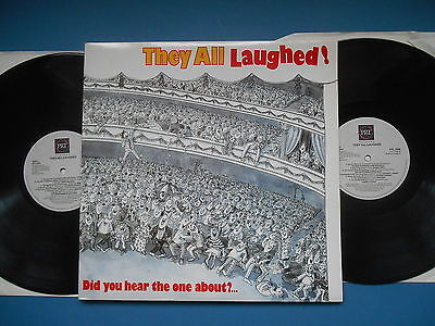 They All Laughed Double Lp Gatefold Uk Comedy Ex