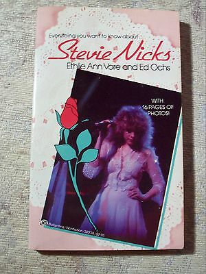 Everything you want to know about..STEVIE NICKS-Ultra Rare BOOK- Ethlie Ann Vare