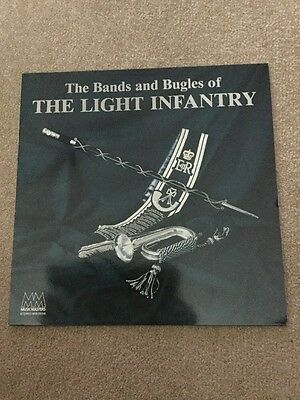 The Bands And Bugles Of The Light Infantry Vinyl Lp