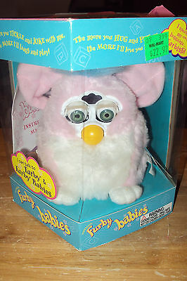 Original Furby Baby In Box 1999 Tiger Electronics Model 70-940