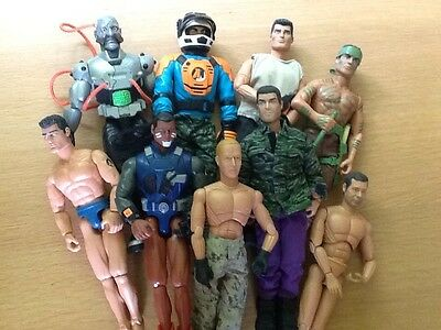 Job Lot Of Action Man Figures