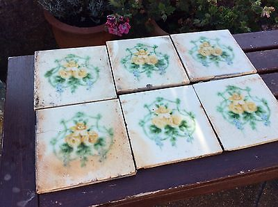 "Set Of Six 6X6"" Victorian Tiles"