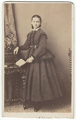 CDV: portrait PRINCESS MARIE of BATTENBERG