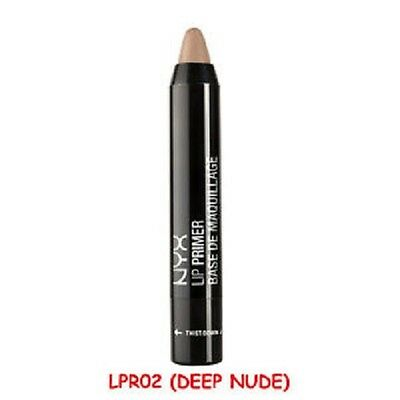 NYX  Lip Primer LPR 02 Deep Nude The Perfect Canvas For Lipcolour free postage