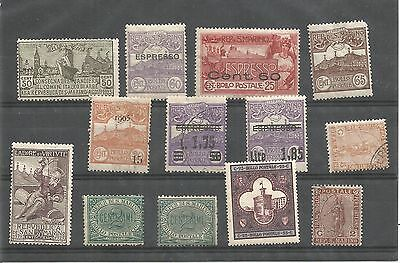 SAN MARINO EARLY 20th CENTURY USED AND UNUSED SELECTION REF 610