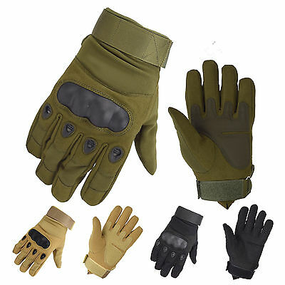 Outdoor Tactical Anti-slip Military Special Full Finger Gloves Size M-XL Cycling
