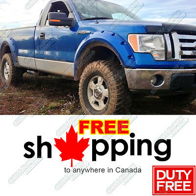 09-14 Ford F-150 Pocket-Riveted Style Fender Flares 4pcs Set