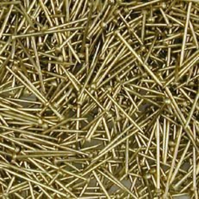 Pinflair Sequin Pins 13mm - Gold, pk of 25g